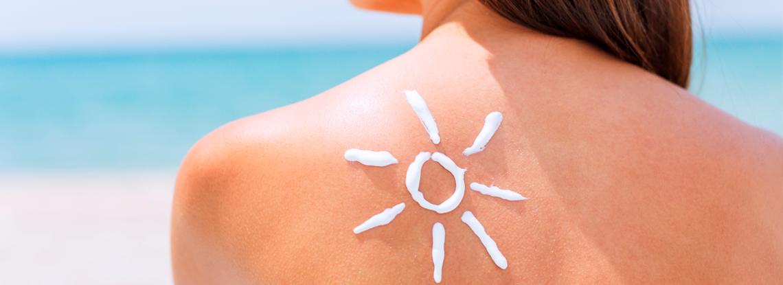 La piel en verano