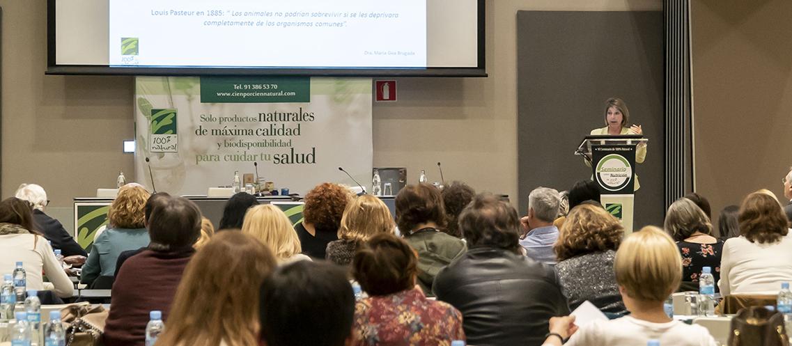"""""""Probióticos como nuevo paradigma de la salud en la práctica clínica"""" por la Dra. María Gea"""