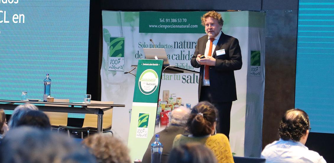 """Ponencia del Dr. Nils Hoem """"Mecanismos de acción, absorción, distribución y eliminación de EPA y DHA fosfolipídico. Una actualización del uso nutricional y clínico"""""""