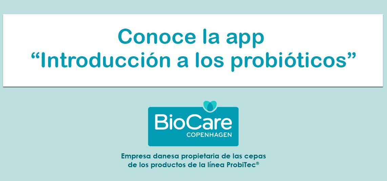 App de Probióticos de BioCare