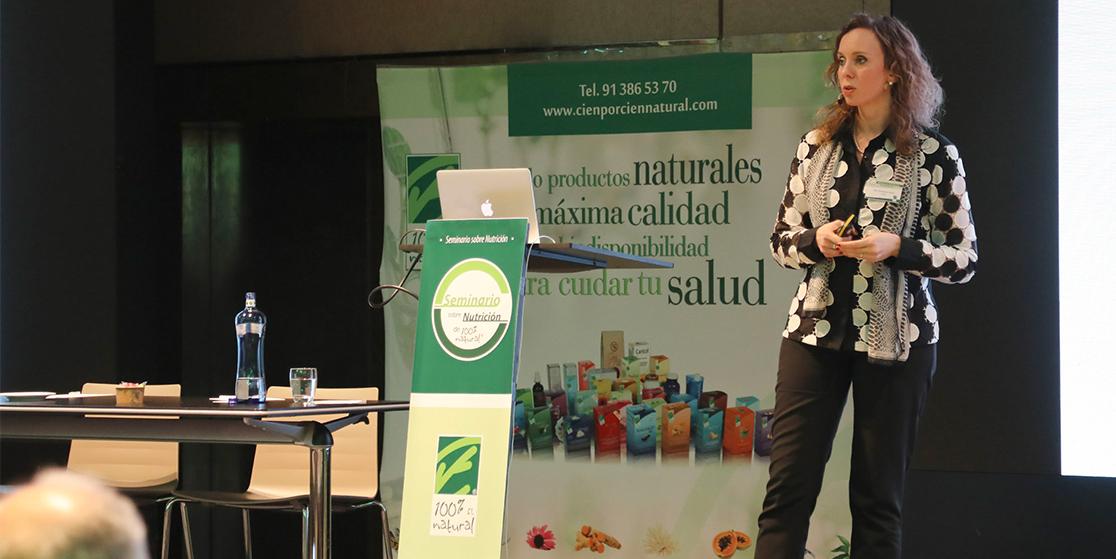 """Ponencia de Dña. Elisabetta Frattini """"Soluciones a los problemas digestivos a través de la fitoterapia"""""""
