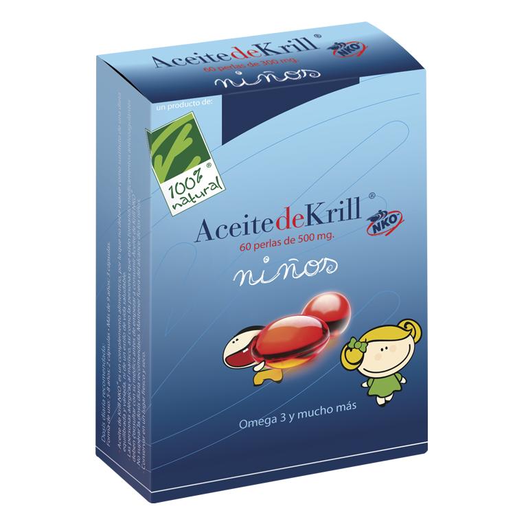 Aceite de Krill NKO Niños