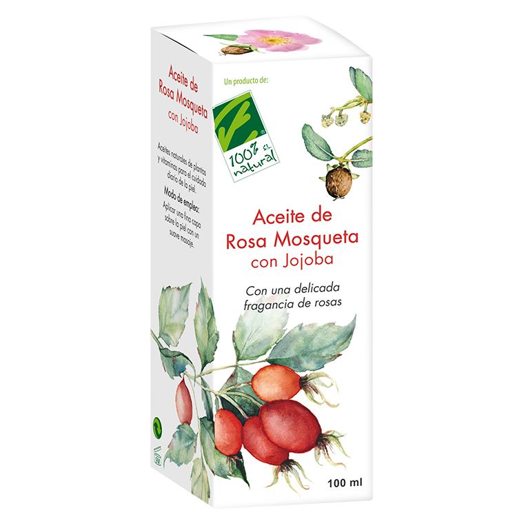 Aceite de Jojoba con Rosa de Mosqueta